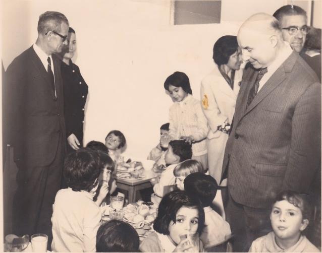 Inauguração da Instituição 15 de setembro de 1969